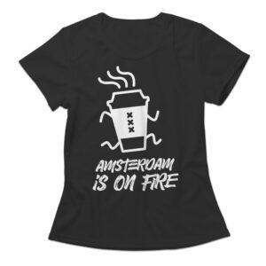 Tshirt Adam on fire Gosling Coffee