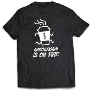 Tshirt Adam on fire Gosling Coffee