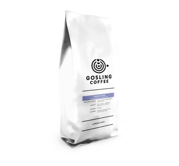 Package front Tembo Gosling Coffee