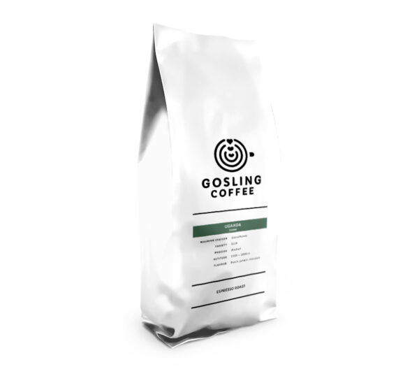 Package front Uganda Gosling Coffee